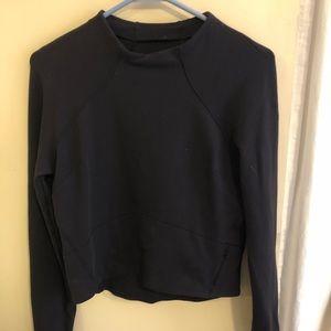 Size 4 Cropped Lululemon sweatshirt